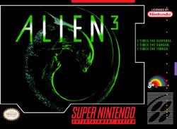 Скачать SNES   Alien 3 (RUS) на русском