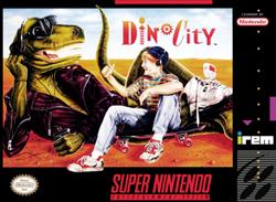 Скачать SNES   Dino City (RUS) на русском