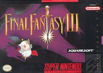 Скачать SNES   Final Fantasy III (RUS) на русском