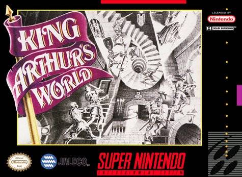 Скачать SNES   King Arthur's World (RUS) на русском