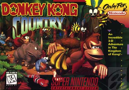 Скачать SNES   Donkey Kong Country (RUS) на русском