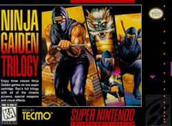 Скачать SNES   Ninja Gaiden Trilogy (RUS) на русском
