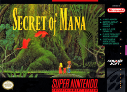 Скачать SNES   Secret of Mana (RUS) на русском