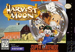 Скачать SNES   Harvest Moon (RUS) на русском